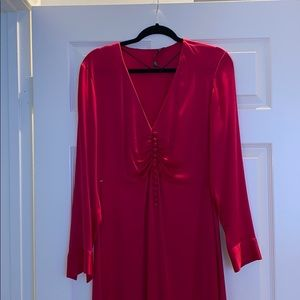 Fuchsia Zara Maxi dress